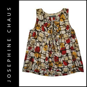 Josephine Chaus Women Sleeveless Tank Blouse Sz 8